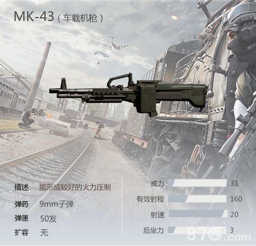 荒野行动MK43