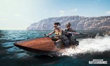 绝地求生新载具摩托艇公布 双人乘坐到处浪