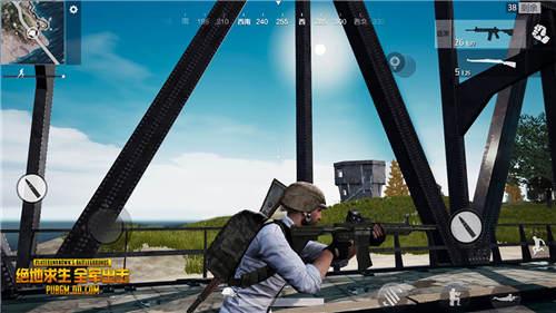 桥头埋伏开镜狙击