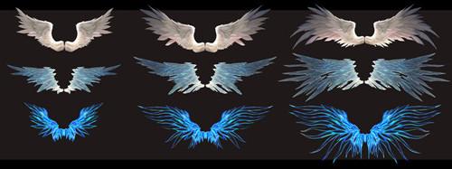 翅膀多重进化,造型更华丽