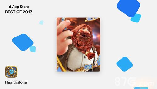 炉石传说荣获APPSTORE最佳卡牌类游戏