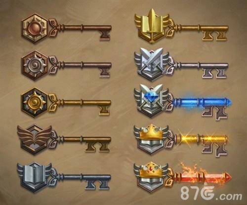 炉石传说竞技场钥匙