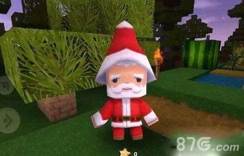 迷你世界圣诞老人