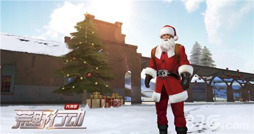 荒野行动圣诞老人怎么玩