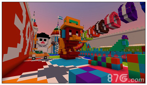 迷你世界玩具世界地图4