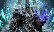 炉石传说最新美图欣赏 巫妖王和冰霜女巫吉安娜