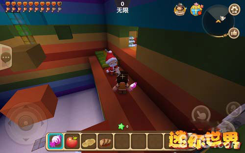 迷你世界彩虹试练地图4