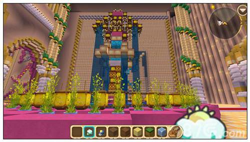 迷你世界梦幻城堡地图分享 梦幻城堡作者迷你号一览