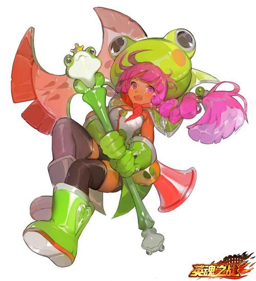 青蛙少女——丫丫