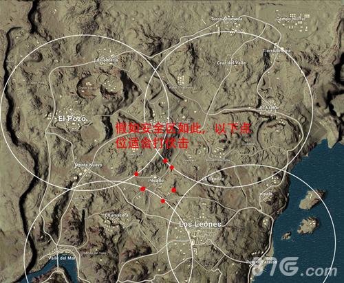 绝地求生刺激战场沙漠地图快递位置推荐