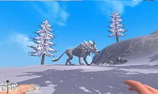 创造与魔法风景图片欣赏 海边雪原地图摄影图片