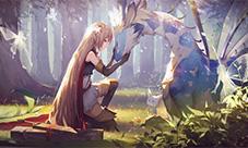 影之诗亚里莎图片 亚里莎角色原画欣赏