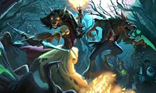炉石传说女巫森林宣传视频 新版本宣传动画
