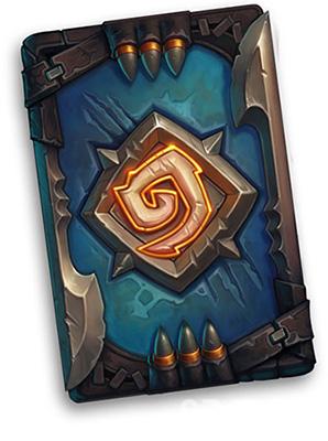 炉石传说怪物狩猎奖励卡背