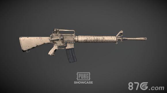 绝地求生刺激战场M16A4皮肤2