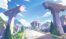 QQ飞车手游希腊神殿视频教学 希腊神殿跑法视频