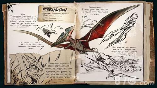 方舟生存进化无齿翼龙