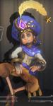 第五人格魔术师蓝调阿拉丁