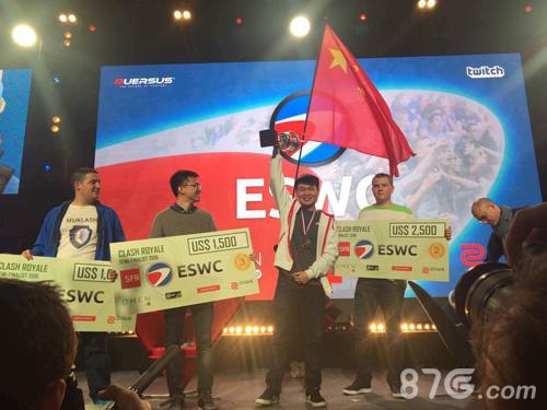 中国选手鸣圣勇夺世界冠军