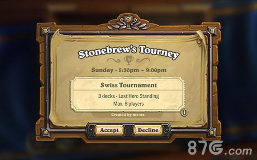 炉石传说比赛模式
