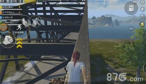 绝地求生刺激战场怎么上桥顶5