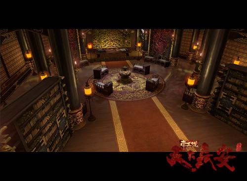 皇宫内部真实还原电视剧场景,尽显庄重大气