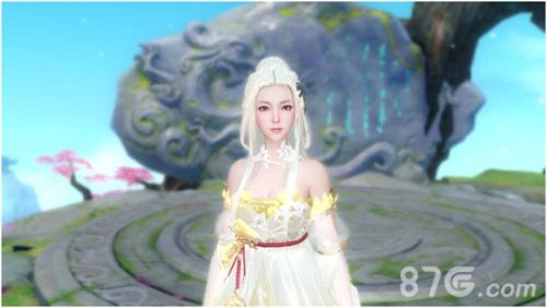 白发冰系美人