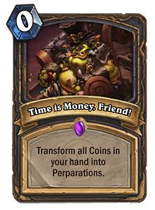 炉石传说时间即是金钱