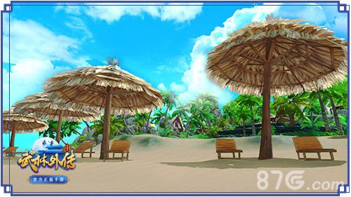 夏日海滩,你脑海中浮现了什么?