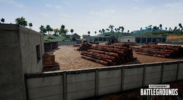 绝地求生刺激战场雨林地图壁纸13