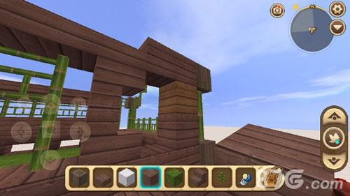迷你世界竹楼怎么建30