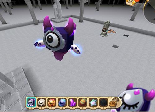 迷你世界萌眼星怪物1
