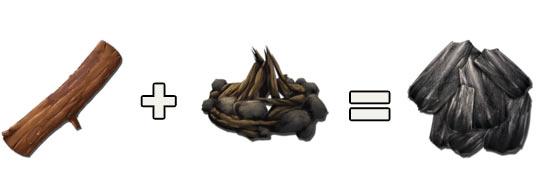 方舟生存进化木炭获得