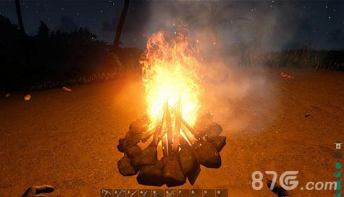 荒岛求生篝火移动
