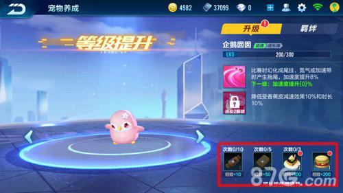 QQ飞车手游宠物怎么进化2