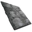 石制倾斜屋顶