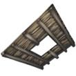 木制天窗框