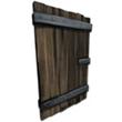 加固木制門