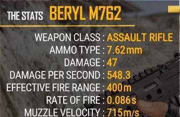 绝地求生刺激战场M762一