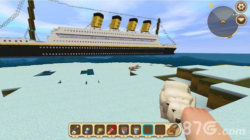 迷你世界泰坦尼克号存档4