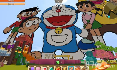 迷你世界哆啦A梦世界存档2