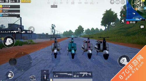 绝地求生刺激战场小型摩托车哪里有