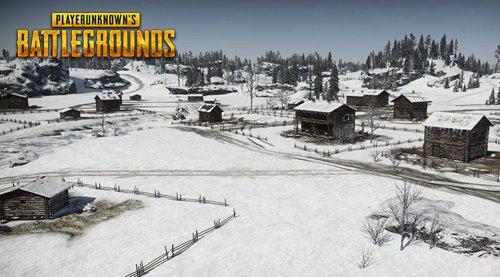绝地求生刺激战场雪地地图曝光1