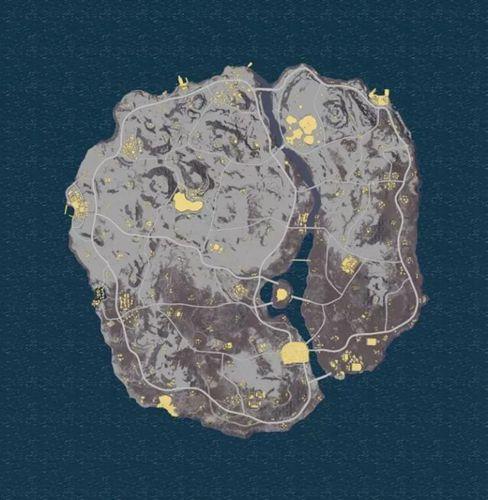 绝地求生刺激战场雪地地图曝光3
