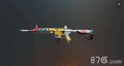 绝地求生刺激战场崛起的M7621