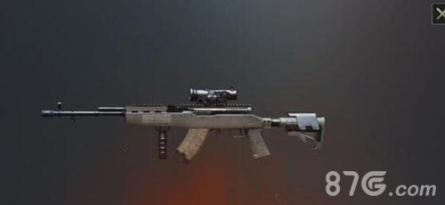 绝地求生刺激战场崛起的M7624