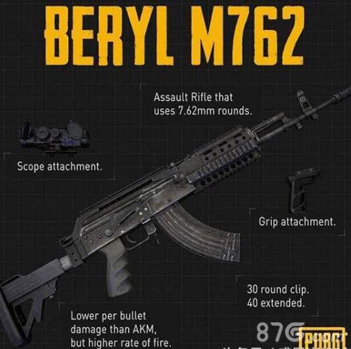 绝地求生刺激战场崛起的M7626