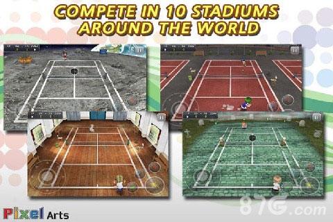 口袋网球截图5