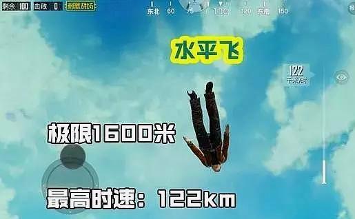 绝地求生刺激战场跳伞姿势介绍1