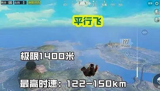 绝地求生刺激战场跳伞姿势介绍2